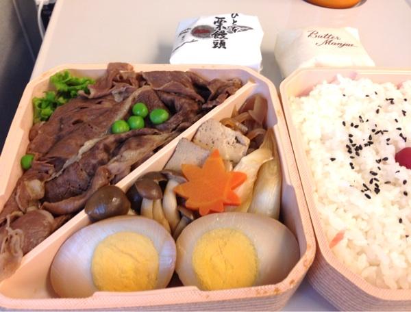 [改札内・グランスタ]浅草今半のすき焼き弁当は安定の美味しさ