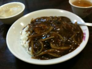 中華カレーというジャンルを知っているか?!絶品あんかけ風。