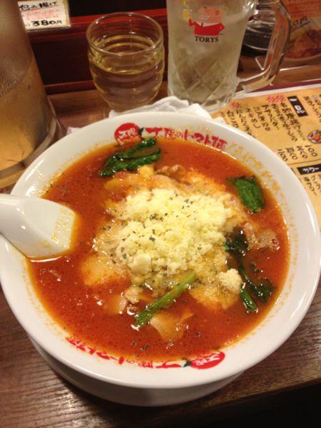 太陽のトマト麺 水道橋店