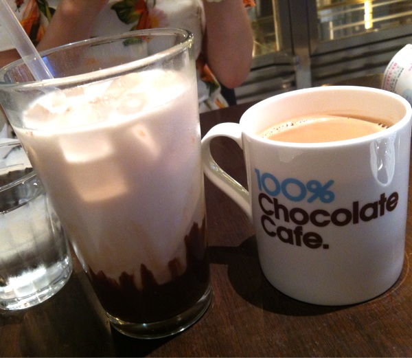 100%ChocolateCafe.(100%チョコレートカフェ)