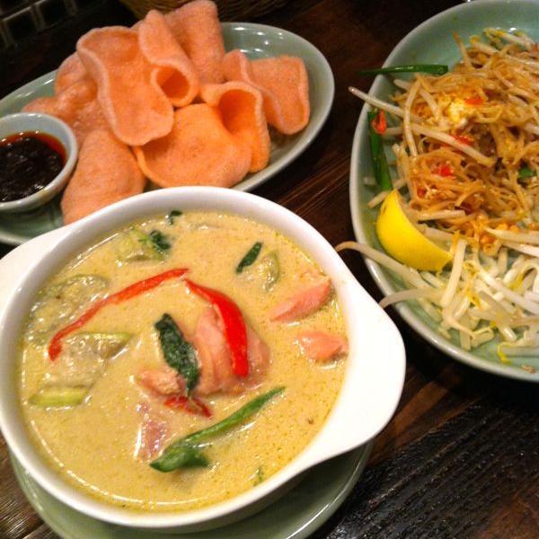 本格タイ料理でアジアン・ランチなら「クルン サイアム」