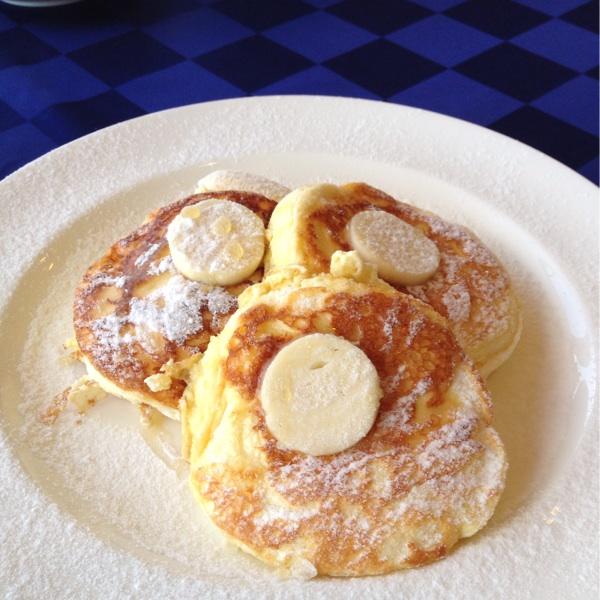 鳥取のニューオータニでパンケーキ