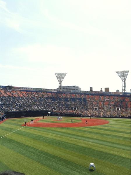 横浜スタジアムの概要と大きさ