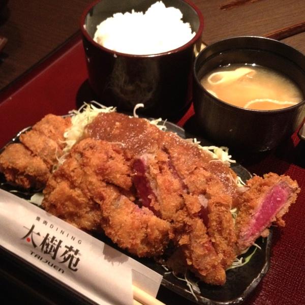 焼肉屋の牛カツなら「太樹苑 西新宿店」