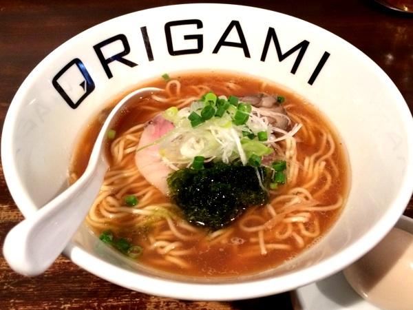 ついでに立ち寄りたい浦和のラーメン店「オリガミ」