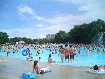 国営昭和記念公園 レインボープール