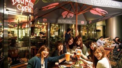 霞が関 デリリウムカフェ トーキョー「テラス席限定・ベルギービールでビアガーデンプラン」