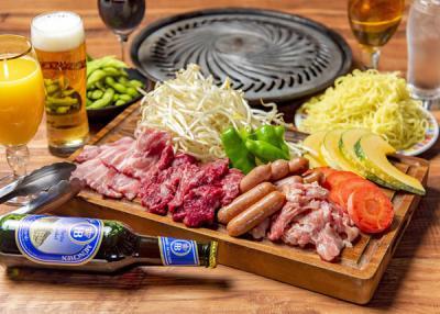 東武百貨店池袋本店 スカイビューフードコート「ビアガーデン& BBQ」