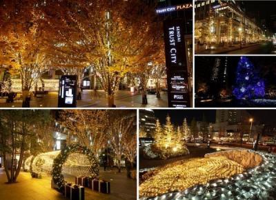 仙台トラストシティ クリスマス&ウィンターイルミネーション