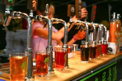 春のけやきひろばビール祭り