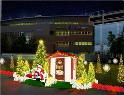 ららぽーと豊洲 イルミネーション(風が奏でるクリスマス/ツリーの森)