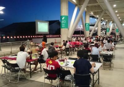カシマサッカースタジアム 2016スタジアムビアガーデン