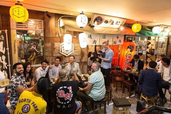 【屋内開催】六本木ロアビル 大都会のビアガーデン~東京六本木横丁「塊ゆゑ に。」