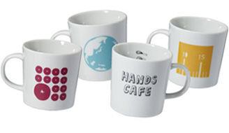 ハンズオリジナルマグカップのデザインコンペを実施