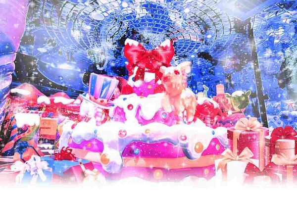 『カラフルメルティークリスマス』のイメージビジュアル