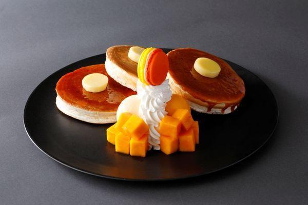 【コーヒーショップ SATSUKI】ホテル ニューオータニ特製マンゴーパンケーキ