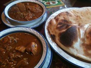 インドカレーランチ!ちょー美味かった!! やっぱ最高だわ! at ガラムマサラ