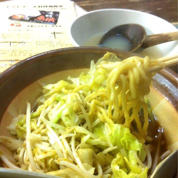 やっぱり、野菜味噌ラーメンでシメ!スープが旨いよd(^_^o)