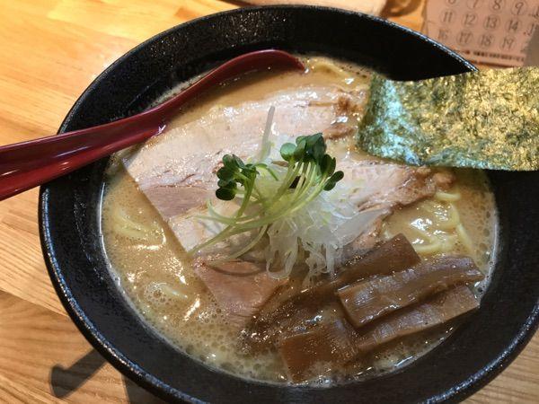 ラーメン樹 #ramen #ラーメン #熊本 鶏豚骨(醤油)ラーメン熊本