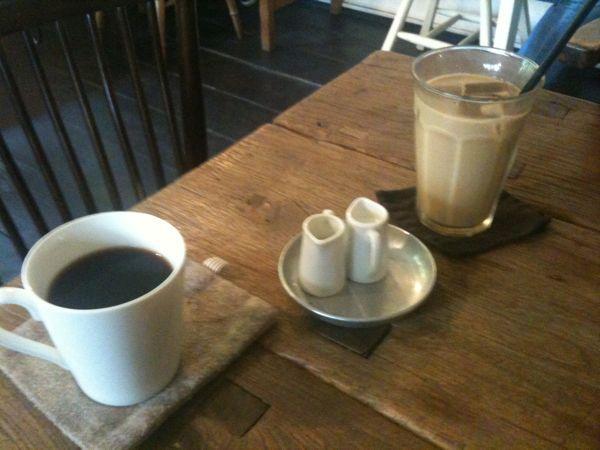 cafe shibaken初めて入りました。コーヒーもランチもなかなか。