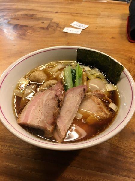 一番いちばん #ramen 特中華そば  ¥950。淡麗系の手打ち麺で、予想以上に美味しかった!今度は、水曜日限定の担々麺、頂きたい!