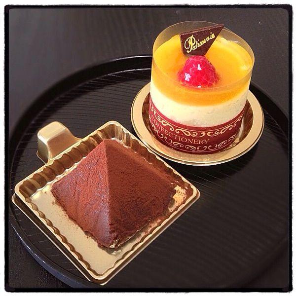 チョコレートピラミッド & リリコイチーズケーキ ◇ JJ HAWAII