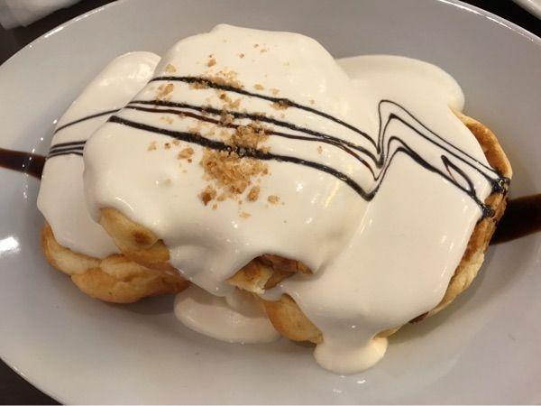 Light Cafe 名古屋スパイラルタワーズ 《マカダミアナッツのパンケーキ》