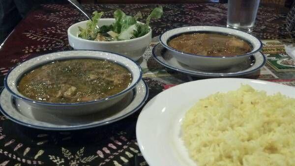 ガラムマサラは大繁盛。チキンと豆腐のカレーが登場。更に茶葉入りで甘さと苦さの不思議コラボを体感できます♪