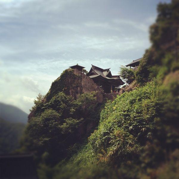 大分登ってきた。 / 宝珠山立石寺