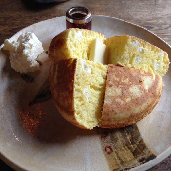 cafe CONVERSION   クリームチーズのパンケーキ