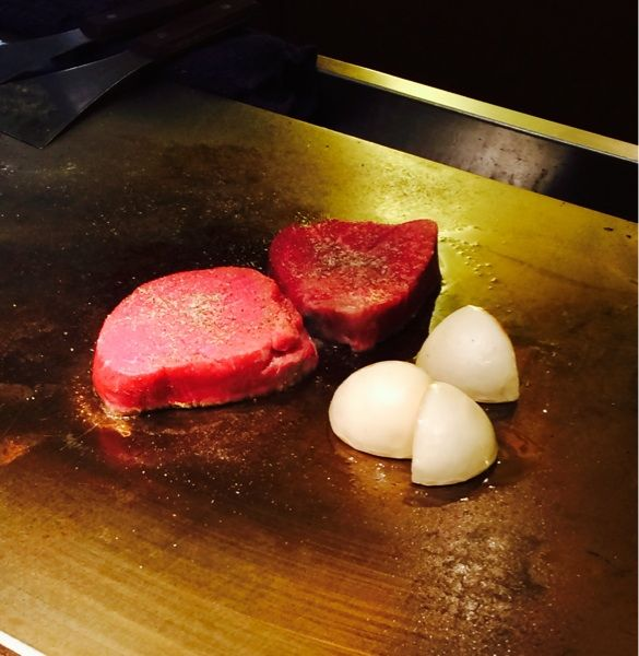 熟成肉のステーキ☆鉄板焼 宮地