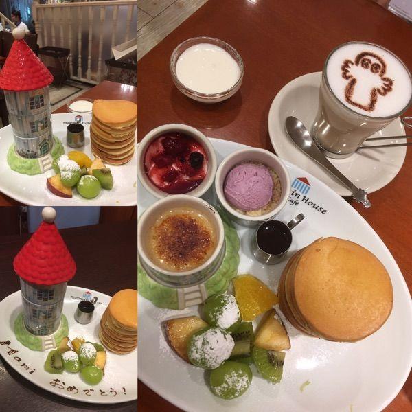ムーミンハウスカフェ 東京スカイツリータウン・ソラマチ店 パンケーキ