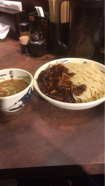 麺屋武蔵 武骨外伝 #ramen #ラーメン 濃厚黒つけ麺¥980
