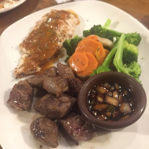 アウトバック・ステーキハウス 品川店 牛と鶏!