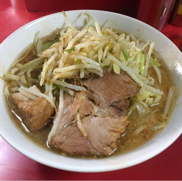 ラーメン二郎 西台駅前店 ゆみしぼの二郎行脚11店舗目~😋💕ミニーメンそのまま🍜