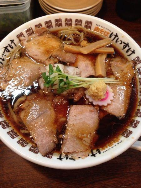 NEW OLD STYLE 肉そば けいすけの肉そば680円(^^)
