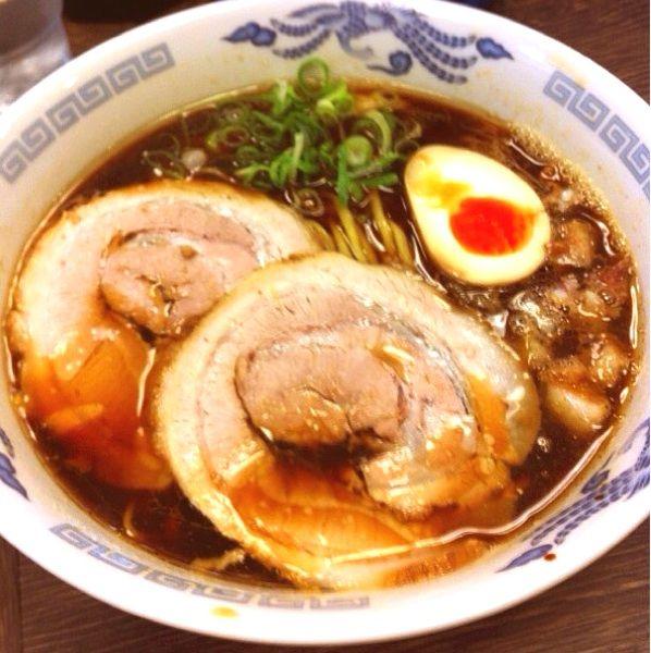 10月  15食限定   たまり醤油油かす そば    魚介風味のスープに自家製平打ち麺