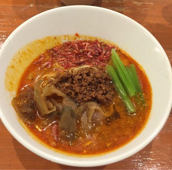 中野。担々麺850円。流石です。