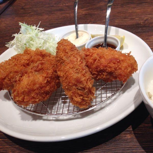 オイスターテーブル 浜松町店に行きました。