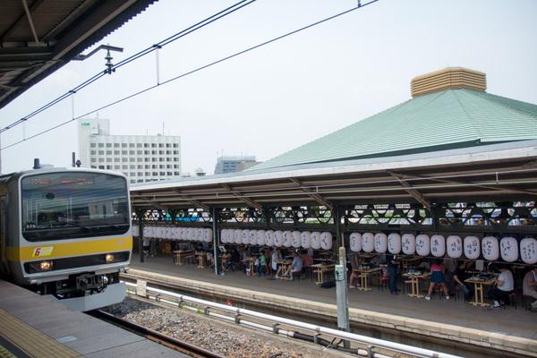 ギョーザステーション 両国駅3番ホーム店