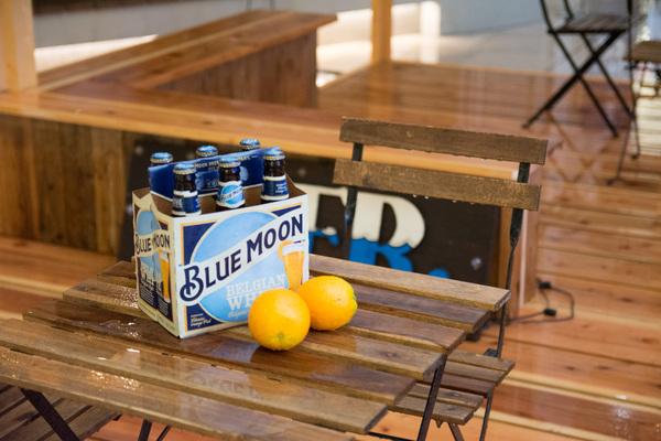 【訪問レポート】京橋エドグランで全米NO.1クラフトビール「Blue Moon」コラボのビアガーデン開催中