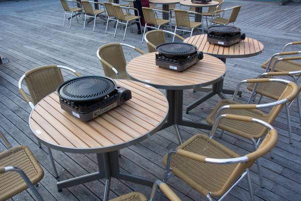 東武百貨店池袋本店 スカイビューフードコートの座席