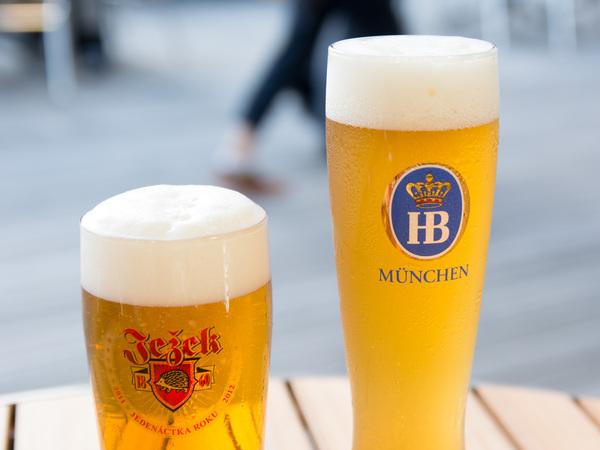 チェコとドイツのビール