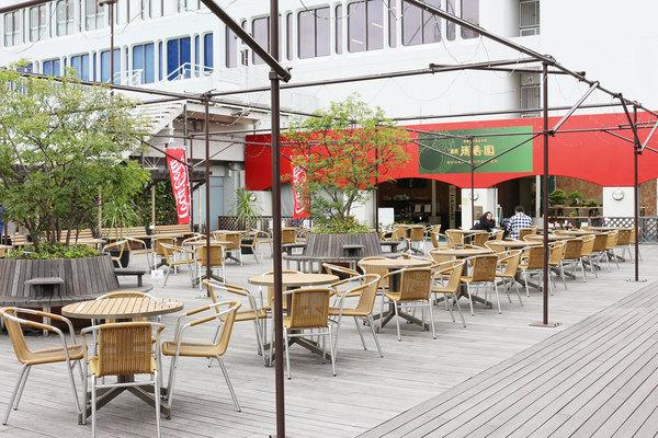 東武百貨店 池袋本店8階屋上「スカイビューコート」