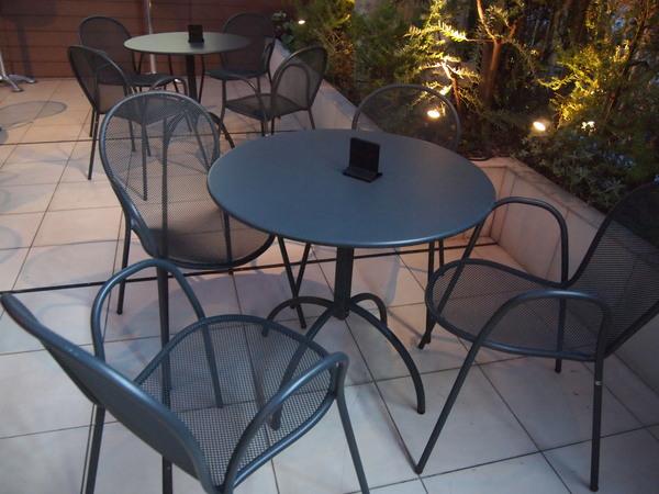 会場のテーブル