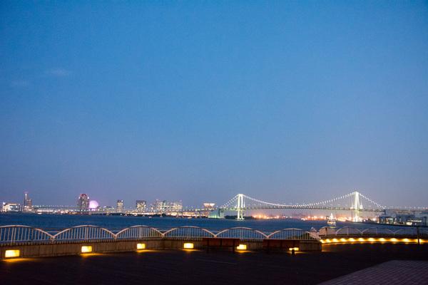 インターコンチネンタル 東京ベイからの夜景