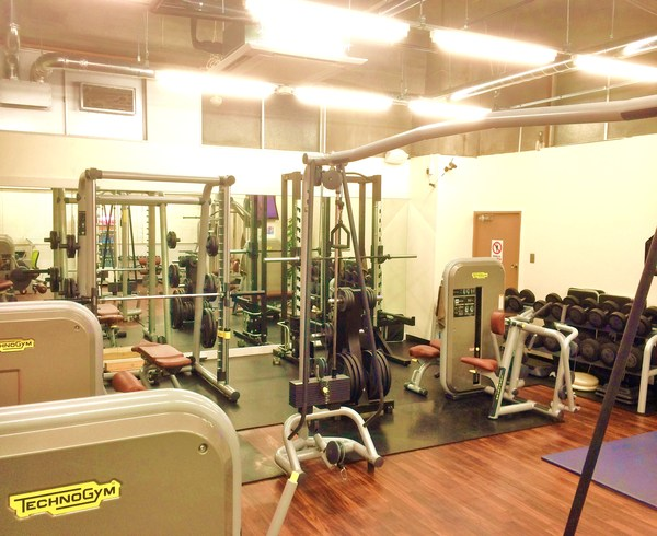 Tokyo Fitness Building BAMBOO