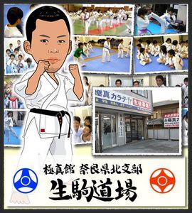 生駒市の空手 極真館