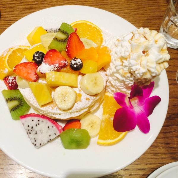 大阪のハワイアンパンケーキ
