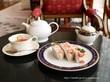苺のサンドイッチ♡リーガロイヤルホテル ガーデンラウンジ